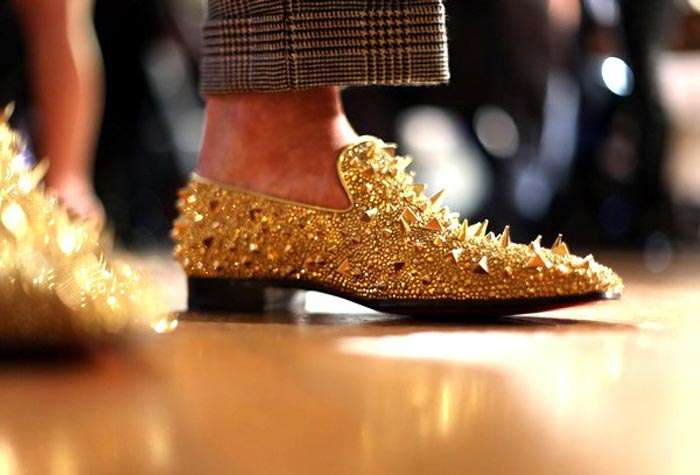 Seriously Studded Slippers