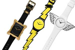 The Jeremy Scott X Swatch Watch Collection is Super Funky