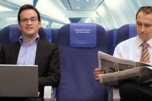 The Humorously Akward KLM Personal Space Experiment