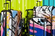 Graffiti-Inspired Luggage - Fly in Style With the Tumi & Crash Spring 2011 Capsule Collection