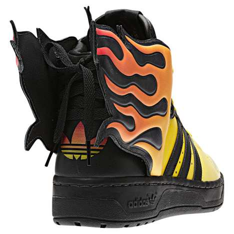 Jeremy Scott Flame Shoes