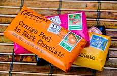 Literary Luxury Chocolates (UPDATE) - The Chocolove Chocolate Bars Unwrap a Love Poem