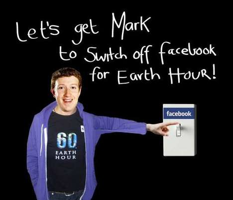 Shut down facebook for Earth Hour