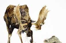 Morbid Moose Illustrations