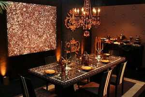 A Store in Lithuania Creates an Entire Chocolate Dining Room