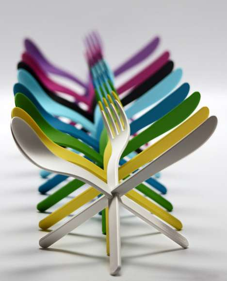Puzzling Utensils - The Ding 3000 JOIN Cutlery is More Fun Than Playing With Your Food