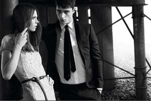 The Burberry Black Label SS 2011 Collection is Edgy and Elegant