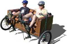 Comfy Cardio Workouts - Tandem Couchbike Lets You Exercise Without Leaving Your Sofa Behind