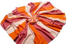 Candy-Colored Comforters - The Uimi Theodore Blanket is Bright and Cozy
