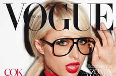 Hipster Heiresses - Paris Hilton Rocks the Vogue Turkey February 2011 Editorial