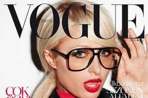Paris Hilton Rocks the Vogue Turkey February 2011 Editorial