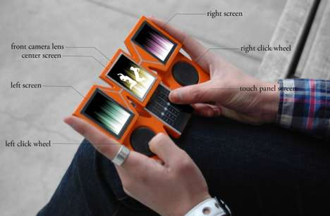 Music-Mixing Mobiles - The Grandwizard Smartphone Turns Any User into a Capable DJ