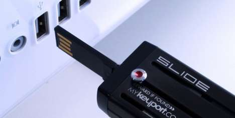 Keyport USB Bottle Opener
