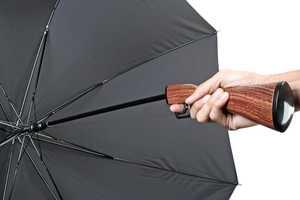 The Rifle Umbrella from Gadget Brando Will Show the Rain Who's Boss