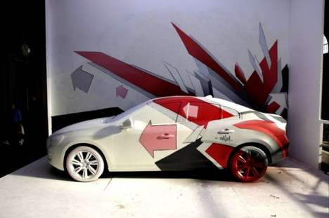 Car Grafitti Marketing - The Volvo Art Session 2011 Reimagines the S60 in 10 Different Ways