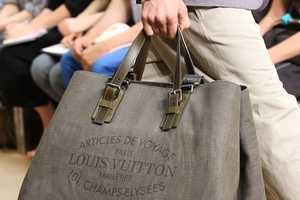 This Louis Vuitton Articles De Voyage Cabas Denim is Casual-Chic
