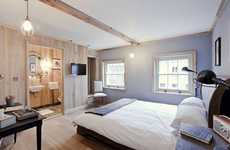 Barn Hotels - The Grazing Goat Takes Country Living into the Big City With Amazing Amenities