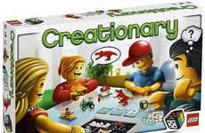 Building Block Charades - LEGO Creationary is a Fun Family Board Game