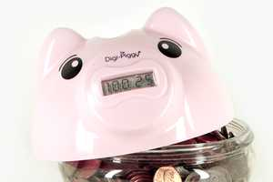 The Cute Digi-Piggy Will Count Your Spare Change