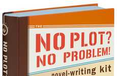 Inspirational Idea Books - The No Plot, No Problem Novel Writing Kit Will Help Aspiring Authors