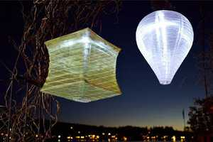 The Solar Soji Lanterns are an Eco Way to Light Up Your Outdoor Space