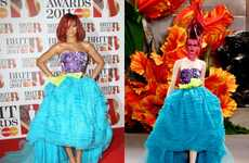 The Rihanna BRIT Awards Christian Dior Gown was Drop Dead Gorgeous