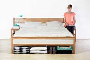 The Bed Blend Crams Safely Crams Two Chairs into One Bed