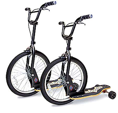 Bicycle Skateboard Hybrids