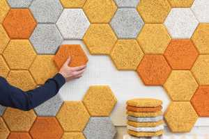 Hexagon by FORM US WITH LOVE Doubles as Geometric Wall Art