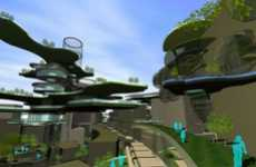 Futuristic Flora Bridges