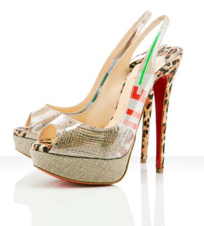 Haute Candy-Wrapper Footwear - These Eco Trash Pumps by Christian Louboutin are Ultra Hot