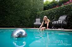Swimming Pool Discos - The Marilyn Grace Events Campaign Promotes Its Memorable Occasions