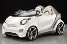 Cute Compact Convertibles - The Smart ForSpeed Concept Lets You Feel the Wind in Your Hair