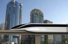 300mph Magnetic Mass Transit - EOL Maglev by Vanja Valencak Offers Resistance-Free Rides