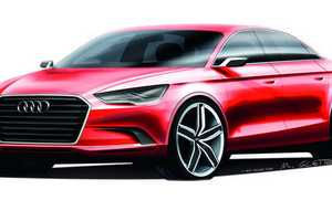 The Audi A3 Sedan Concept is Sure to Turn Heads