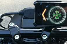 Smartphone Motorcycle Displays