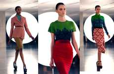 Patterned Colorblock Fashions