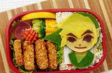 Gamer Bento Boxes - The Zelda Bento Box Features Iconic Nintendo Characters