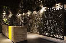 Hotel-Like Work Spaces - The Tebfin Office Interior Design is Warm, Luxurious and Confident