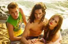 Youthful Seaside Lookbooks