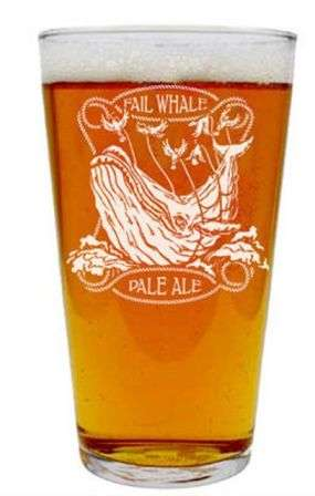 Fail Whale Pint Glass