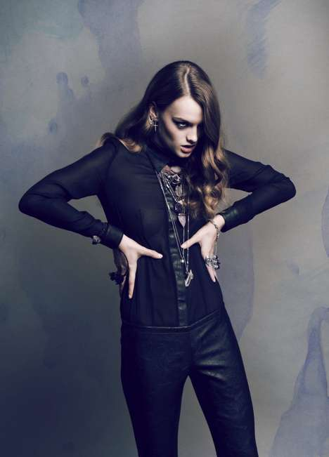 Attitude-Filled Fashion Shoots - The Style Stalker Lookbook 2011 Inspires and Fascinates