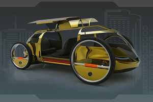Mohammad Ghezel's Mercedes ELA Concept is Lightweight and Structurally Sound
