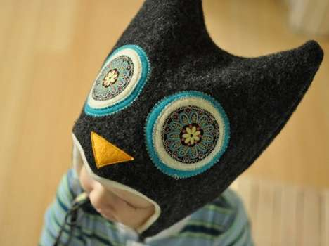 Hooting Owl Hats - These Adorable Hoo Hats Keep Little Heads Warm and Cozy