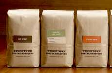 Compartmental Brew Branding - Stumptown Coffee Roasters Puts a Pocket in its Packaging