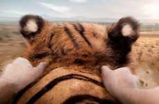 Bareback Tiger-Riding Advertisements