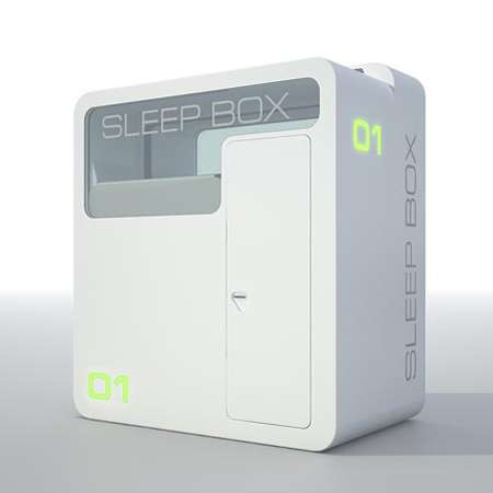 Airport Sleep Boxes