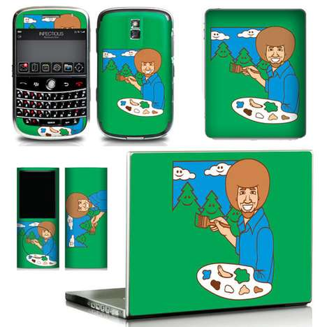 Retro TV Gadget Skins - The Infectious ThEarlYears Collection Paints Happy Little Memories