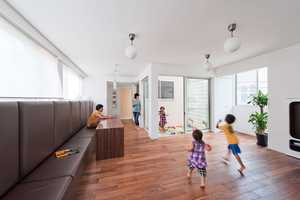 This House With Slide by Level Architects is Perfect for Children