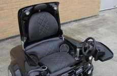 Upcycled-Auto Gaming Gear - This Mini Cooper Multimedia Chair Has Everything For Entertainment